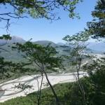 Il Tagliamento visto dal Monte di Ragogna
