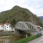 Il ponte sull'Arzino a Flagogna
