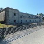 Il forte sulla cima della Bernadia