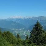 La valle dell'Isonzo vista dal Kolovrat
