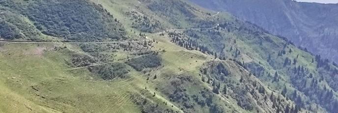 Panoramica delle Vette